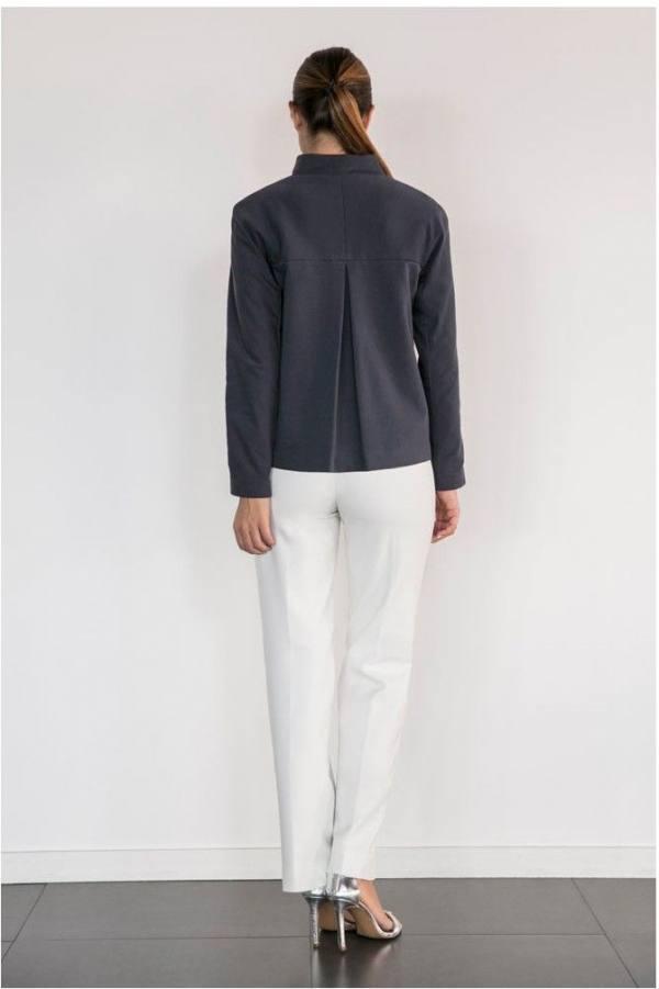 Pantalon blanco espalda